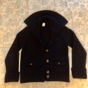 J.Crew Navy Sweater Jacket